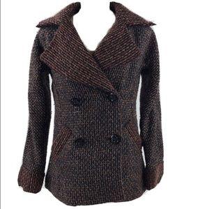 Women's BKE Size L Pea Coat